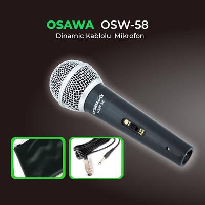 Osw-58 Kablolu El Mikrofonu