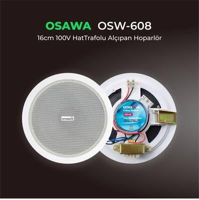 OSW-608 Alçıpan Tavan Hoparlörü