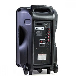OSW-9130 Portatif Seyyar El Telsiz Mikrofonlu Ses Sistemi 125 Watt - Thumbnail