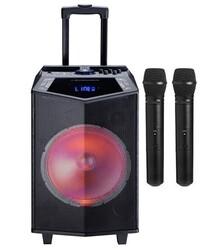 Oyility - DK-15 400 Watt Taşınabilir Portatif El Mikrofonlu Hoparlör
