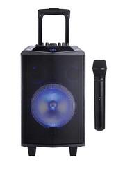 Oyility - DK-8i 80 Watt Taşınabilir Portatif El Mikrofonlu Seyyar Hoparlör