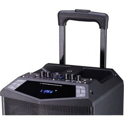 DK-8i 80 Watt Taşınabilir Portatif El Mikrofonlu Seyyar Hoparlör - Thumbnail