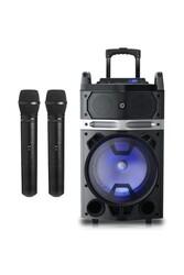 Oyility - NB-121 Karaoke Mikrofonlu Taşınabilir Portatif Ses Sistemi 400 Watt