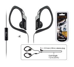 Panasonic - RP-HS34ME-K Kulak İçi Mikrofonlu IPX2 Kulaklık