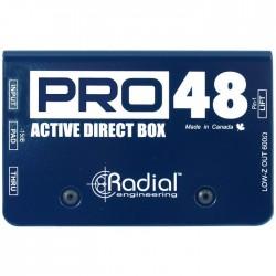 Radial Engineering - Pro48 Yüksek Çözünürlüklü Aktif DI Box