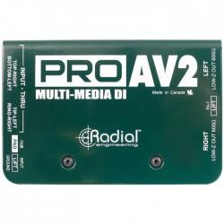 Radial Engineering - ProAV2 Audio-Video DI Box