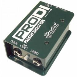 Radial Engineering - ProDI Tek Kanal, Full Range, Pasif DI Box