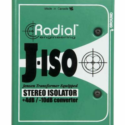 J-ISO Stereo Balans Dönüştürücü