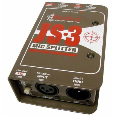 JS3 3 Yollu, Transformatörlü Mikrofon Ayırıcısı
