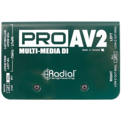 ProAV2 Audio-Video DI Box