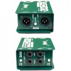 ProD2 Full range, stereo, Pasif DI Box - Thumbnail