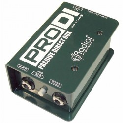 Radial Engineering - ProDI Tek Kanal, Full Range, Pasif DI Box