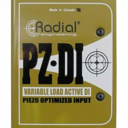 Radial Engineering - PZ-DI Orksetra Enstrüman Aktif DI Box