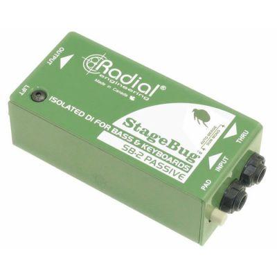 StageBug SB-2 Basgitar, akustik ve klavye için Passive DI Box