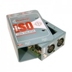 Twin-ISO 2 Kanal, Line Level İzolatör - Thumbnail