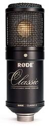 Rode - Classic II - Limited Edition- Mikrofon Geniş diyaframlı Profesyonel Tüp Mikrofon