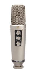 Rode - NT2000 Mikrofon Variable pattern kondansatör mikrofon (büyük shock mount ile birlikte)