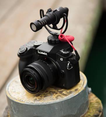 Video Micro Kompakt Kamera Üstü Mikrofon