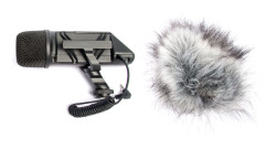 Rode - VideoMic Stereo Mikrofon X/Y Stereo Shotgun Video Mikrofon