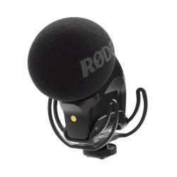 Rode - VideoMic Stereo Pro Mikrofon (Rycote) X/Y Stereo Profesyonel Video Mikrofon (Rycote Shockmount)