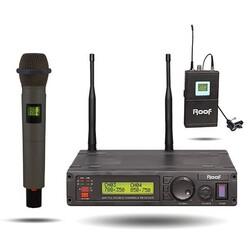 Roof - R-1200 Telsiz Mikrofon 1 El+1 Yaka