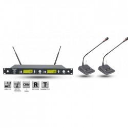 Roof - R-1250S (2 Kürsü) Wireless Mikrofon