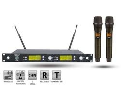 Roof - R-1250S E-E Çift EL Telsiz Mikrofon