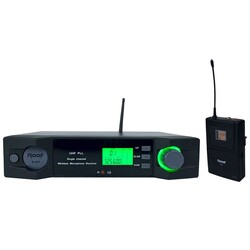 Roof - R-201Y UHF Wireless Telsiz Yaka Mikrofonu