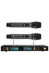 Roof - R 202 E-E İki Kanal UHF Telsiz Mikrofon