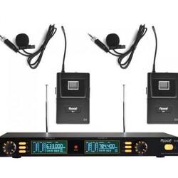 Roof - R 202 Y-Y İki Kanal UHF Telsiz Mikrofon
