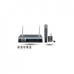Roof - R-220 (1 El+1 Yaka) Analog Wireless Mikrofon