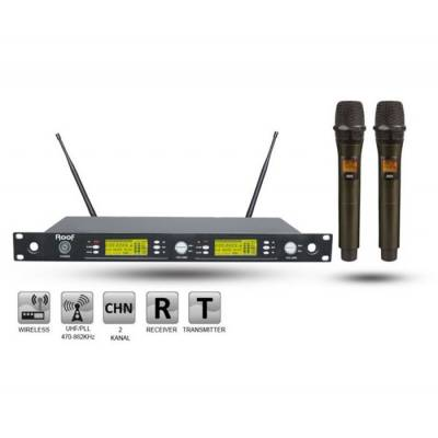 R-1250S (2 El) Wireless Mikrofon