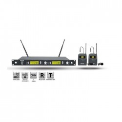 Roof - R-1250S (2 YAKA) Wireless Mikrofon
