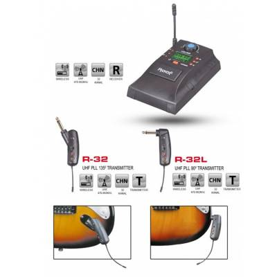 R-32 Analog Wireless Mikrofon