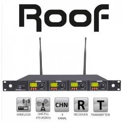 Roof - R-4004 Alıcı 4'lü Dijital