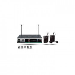 Roof - R-720 (2 Yaka) Wireless Mikrofon