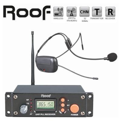 R-8 UHF Yedek Mikrofon