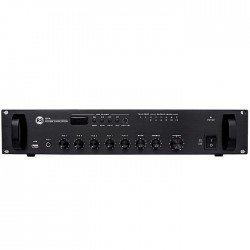 Rs Audio - DPA 200 USB 200 Watt 5 Zone 5 Giriş 100V Anfili Mikser