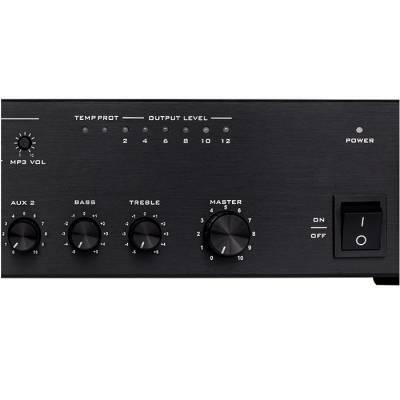 DPA 200 USB 200 Watt 5 Zone 5 Giriş 100V Anfili Mikser