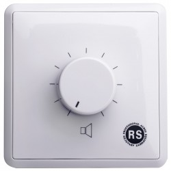 Rs Audio - VC-324R Ses Kontrol ve Kanal Seçici Duvar Paneli