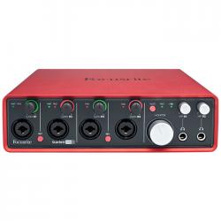 Focusrite - Scarlett 18i8 4 Kanal Mikrofon Preamplifikatörü