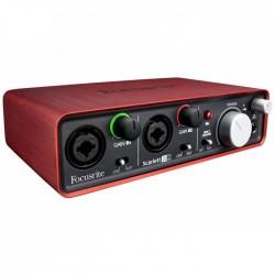 Focusrite - Scarlett 2i2 MKII Mikrofon Preamplifikatörü