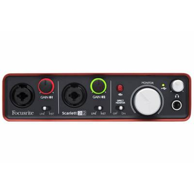 Scarlett 2i2 MKII Mikrofon Preamplifikatörü