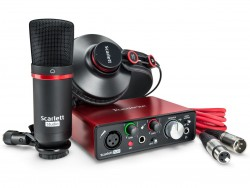 Focusrite - Scarlett Solo Studio Pack Profesyonel Kayıt Paketi MK2
