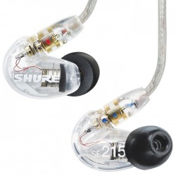 Shure - SE215-CL-RIGHT SE215 Sağ Kulaklık Ucu (Şeffaf)