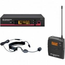 Sennheiser - EW 152 Kafa Tipi Telsiz Mikrofon 12ch