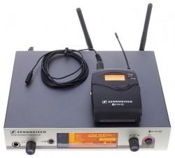 Sennheiser - EW 312 UHF Yaka Tipi Telsiz Mikrofon 24ch