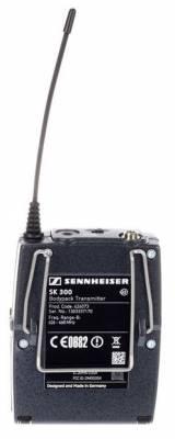 EW 312 UHF Yaka Tipi Telsiz Mikrofon 24ch