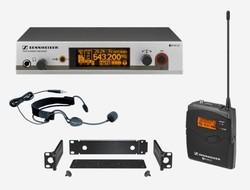 Sennheiser - Sennheiser EW 312 RESENTATION SET - Uhf Yaka Tipi Telsiz Mikrofon /