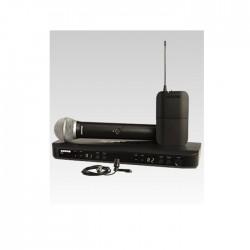 Shure - Shure BLX1288E/CVL Dual Channel Combo Wireless System